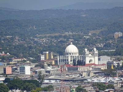 016_San Salvador  Panoramic View  The Metropolitan Cathedral