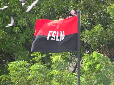 009_Nicaragua  Sandinist Party Flag