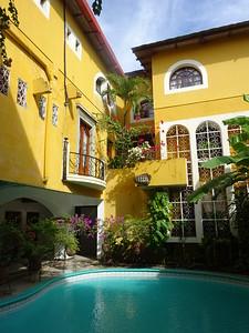 294_Granada  Parque Central  Colonial Architecture  The Alhambra Hotel