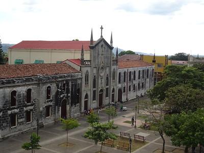 030_Leon  Parque Central  Colegio de la Asuncion