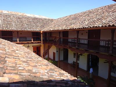 290_Granada  Parque Central  Colonial Architecture  The Hotel Plaza Colon
