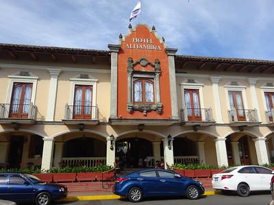 292_Granada  Parque Central  Colonial Architecture  The Alhambra Hotel