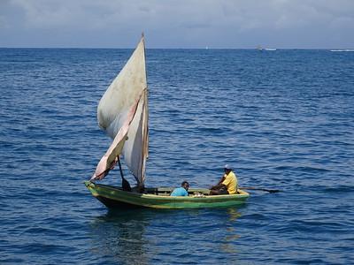 11_Haiti  Labadee  Carribean Sea  Handmade Wooden Fishing Boat