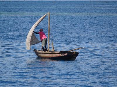 09_Haiti  Labadee  Carribean Sea  Handmade Wooden Fishing Boat