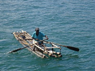 15_Haiti  Labadee  Carribean Sea  Handmade Wooden Fishing Boat
