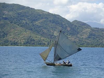 14_Haiti  Labadee  Carribean Sea  Handmade Wooden Fishing Boat