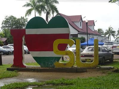 017_Paramaribo  Fort Zeelandia  I Love Suriname