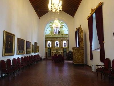 019_Caracas  West side  Museo Municipal de Caracas  Capilla Santa Rosa de Lima  Altar de la Patria, 1673