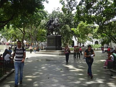 023_Caracas  West side  Plaza Bolivar