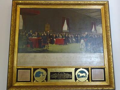 020_Caracas  West side  Museo Municipal de Caracas  Capilla Santa Rosa de Lima  Declaration of Independance, July 5th  1811