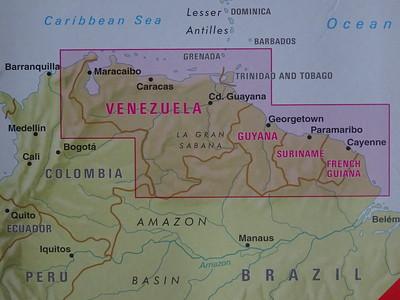 001_Venezuela  Map