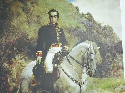 004_Simon Bolivar  Born in Caracas  Born on July 23rd  1783