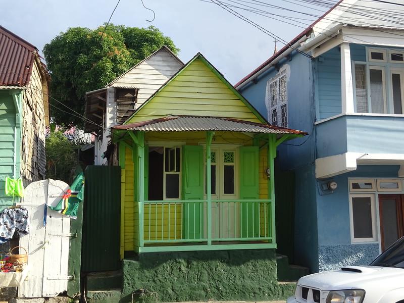 020_Roseau  Creole architecture