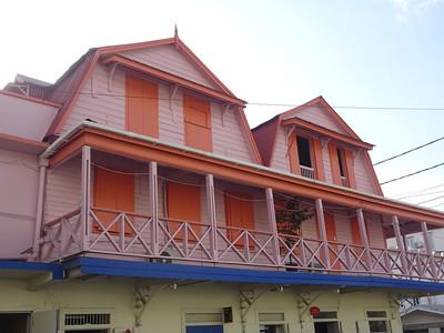 018_Roseau  Creole architecture