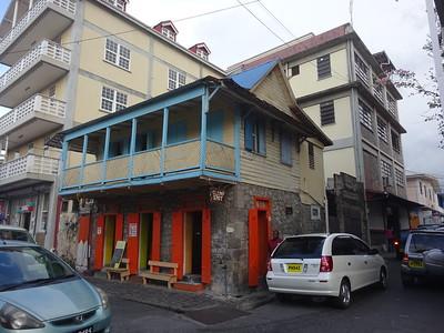 022_Roseau  Creole architecture
