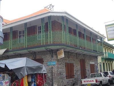 023_Roseau  Creole architecture