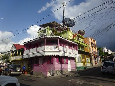 021_Roseau  Creole architecture