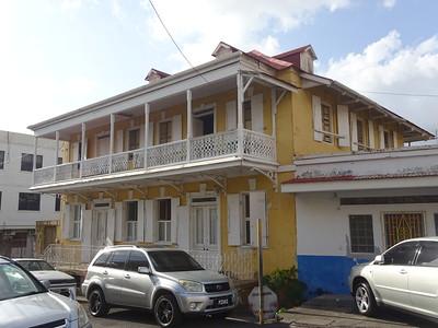 015_Roseau  Creole architecture