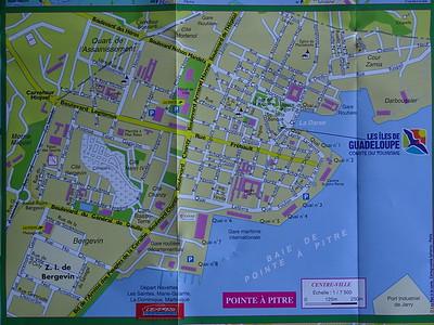 005_Pointe-à-Pitre  Plan de la Ville