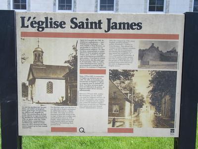 022_Trois-Rivières  L'église Saint-James