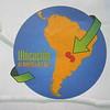 001_Paraguay Map  Landlocked between Argentina, Brazil and Bolivia