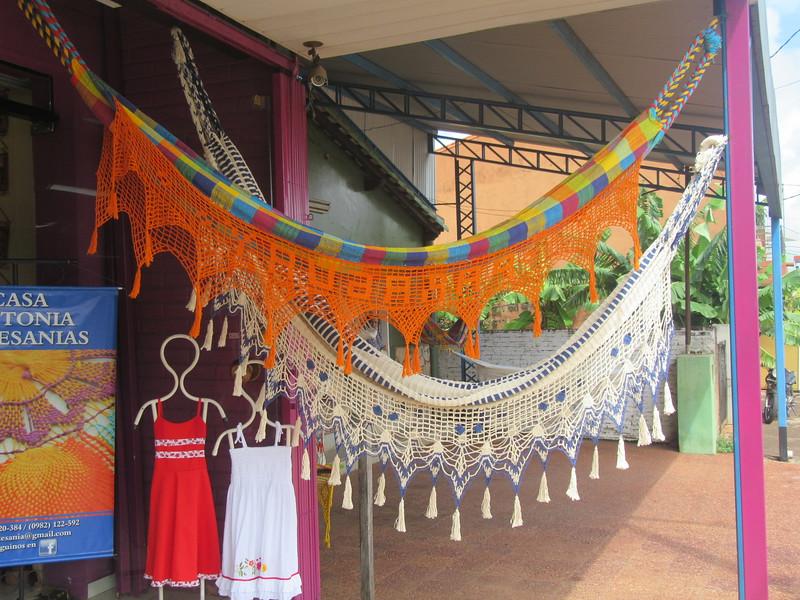 108_Itaugua  Ciudad del Nanduti  Famous for its fabric handicraft