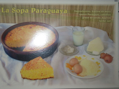 012_Paraguay  Tradicion Paraguaya  La Sopa Paraguaya