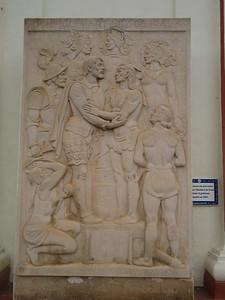 019_Asuncion  Metropolitan Cathedral  First Spanish Commander, Domingo Martinez de Irala  1537