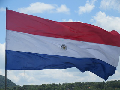004_Paraguay Flag