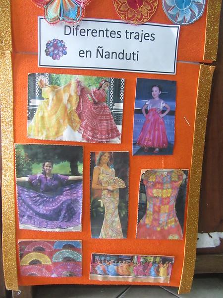 111_Itaugua  Ciudad del Nanduti  Handicraft  Imitation of the spider web