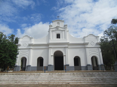 105_Capiata  Church, 17th C  17th C church whose altar was carved by the Guarani Indian