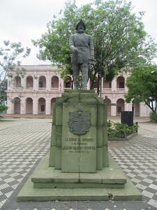 027_Asuncion  Founder of Asuncion, Capitan Juan de Salalzar de Espinoza, August 15th, 1537