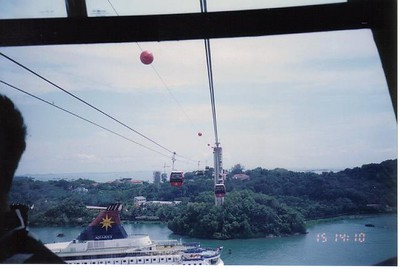 09_Singapore_Cable_Car_to_Sentosa