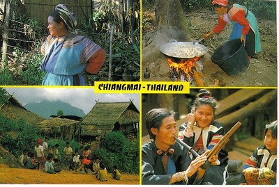 57_CM_Hilltribe_1_ 2_Lisou_Thai_3_E_Kro_Children_4_Meo