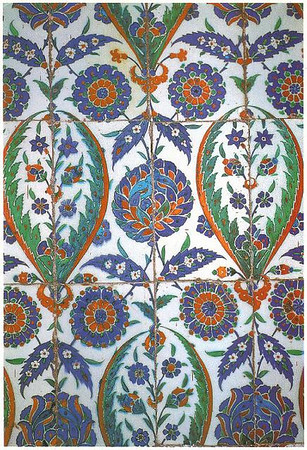 022_The_Blue_Mosque_Characteristic_Ottoman_Tile_Pattern