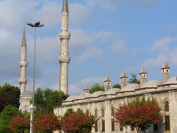 009_Constantinople_sous_l_Empire_Romain_The_Blue_Mosque
