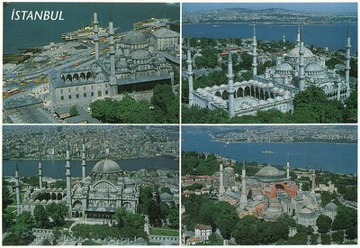 003_Istanbul_4_Mosques_New_Suleymaniye_Blue_Ayasofya