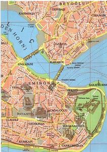 006_Istanbul_Map_Lors_de_L_Antiquite_Grec_appele_Byzance