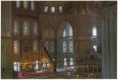 020_Ist_TBM_Mihrab_and_Minbar_White_Marble_17th_AD