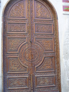031_Damascus_Old_Souk_Door_Carving