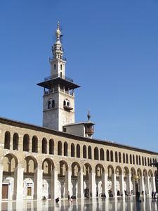 036_Damascus_Omayyad_Mosque_Comprenant_3_minarets