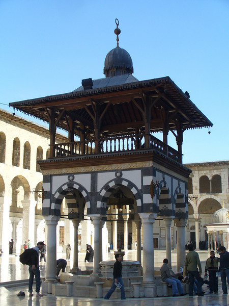044_Damascus_Omayyad_Mosque_La_Fontaine_aux_Ablutions