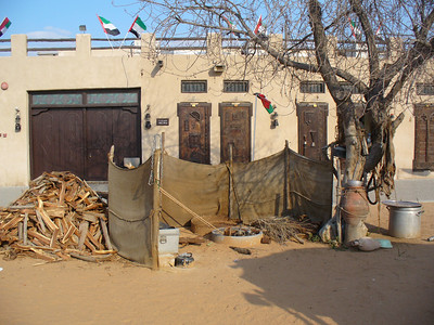 035_Dubai_Heritage_Village_Cooking_space_for_the_Bedouin_people