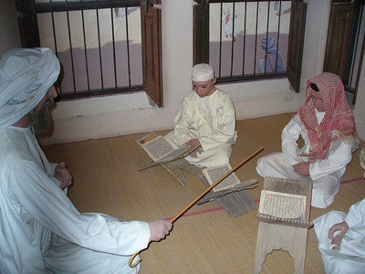 023_Dubai_Museum_Coran_teaching