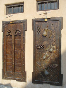 032_Dubai_Heritage_Village_Traditional_Doors