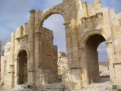 024_Jerash_The_South_Gate_Roman_2th_C_AD