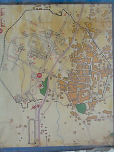 020_Jerash_Map_The_best_preserved_Roman_city_in_the_World