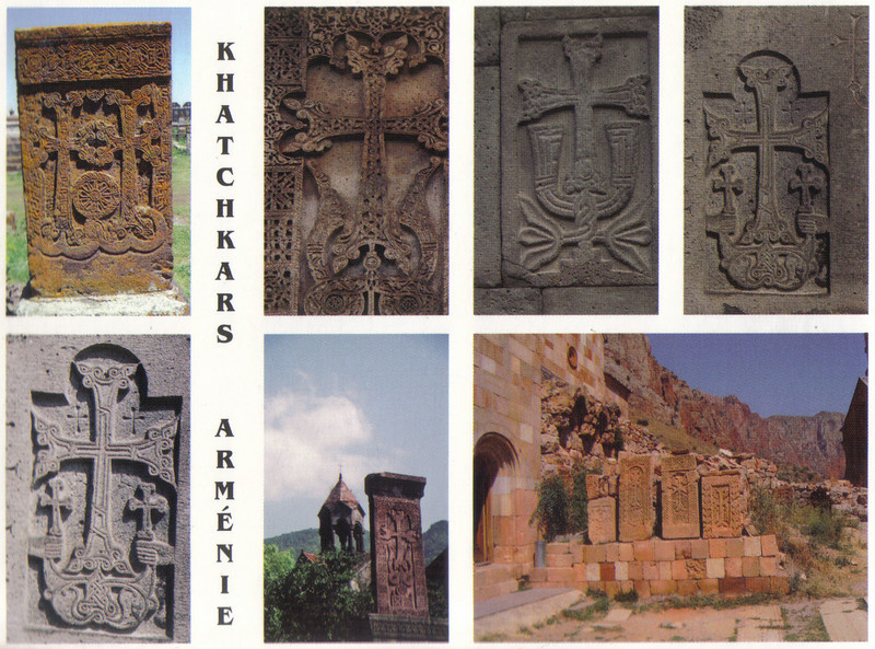 017_Armenian_Khatchkars_An_Ornately_Carved_Cross_Stones