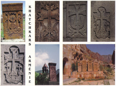 017_Armenian_Khatchkars_An_Ornately_Carved_Cross_Stones