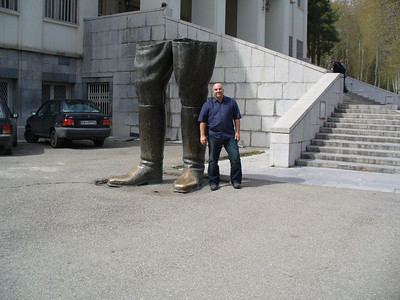 041_Tehran_Bronze_boots_Only_remains_of_Reza_Shah_statue